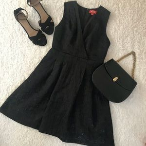 Kirna Zabete Dresses - Kirna Zabete for Target Black Textured Dress
